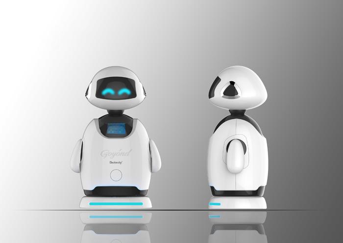 上海创意产品设计-家庭智能机器人